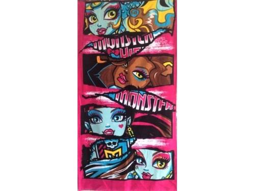 Детское полотенце пляжное Monster High (Монстер Хай) 032 от Merzyka в интернет-магазине PannaTeks