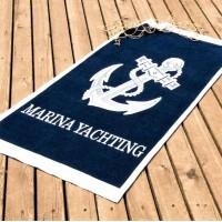 Пляжное полотенце с якорем Marina Yachting