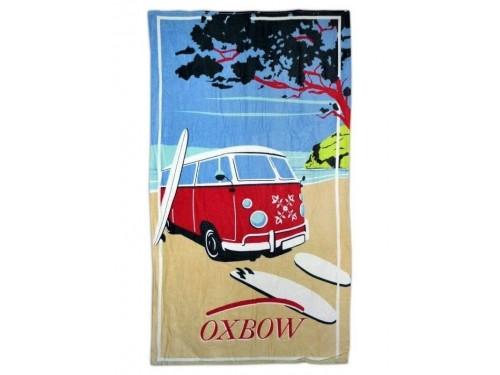 Полотенце пляжное детское Автобус OXBOW 074 от Merzyka в интернет-магазине PannaTeks
