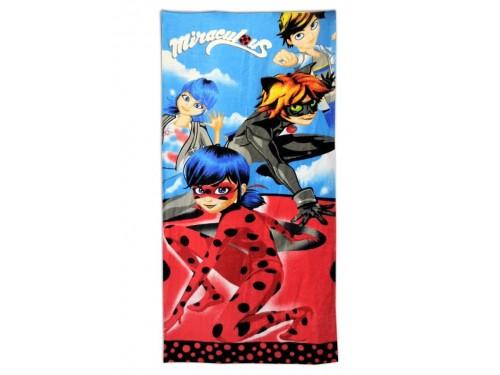 Детское пляжное полотенце с рисунком Леди Баг и Друзья 078 от Merzyka в интернет-магазине PannaTeks