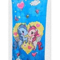 Детское пляжное полотенце Пони с Крыльями