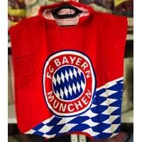 Детское пляжное полотенце пончо FC Bayern Munchen
