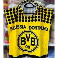 Детское пляжное полотенце с капюшоном пончо Boussia Dortmund