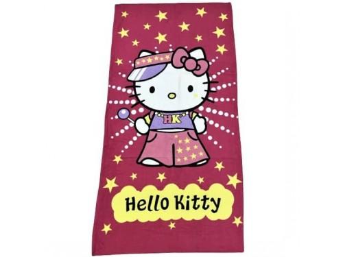 Пляжное полотенце для девочки Hello Kitty 02179 от Vende в интернет-магазине PannaTeks