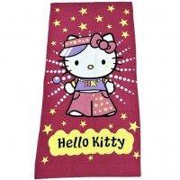 Пляжное полотенце для девочки Hello Kitty