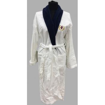 Подростковый халат махровый/велюровый BLUE