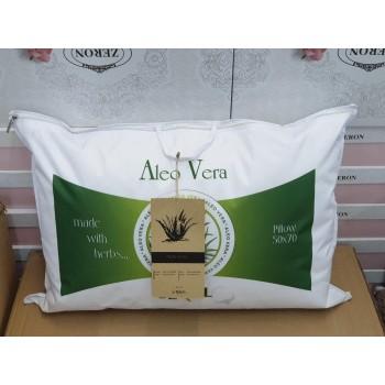 Подушка из микрофибры Aloe Vera белая, Seral, Турция фото 1