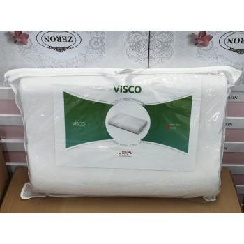 Ортопедическая подушка для сна из пены Visco, 40х60, белая фото 2