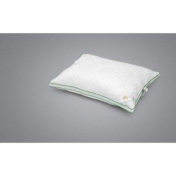 Бамбуковая подушка Bamboo Classic 50х70, стеганая, белая