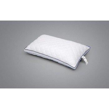 Силиконовая подушка стеганая Visco Boncuk, гипоаллергенная, белая