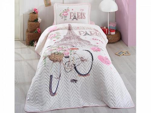 Детское покрывало на кровать стеганое PARIS-LOVE Турция 12176 от Aran Сlasy в интернет-магазине PannaTeks