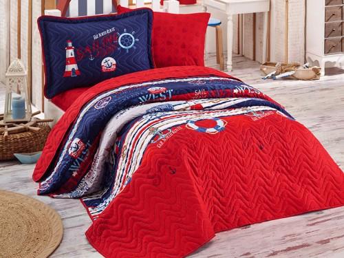 Детское покрывало на кровать стеганое с наволочкой ROTA 13208 от Aran Сlasy в интернет-магазине PannaTeks