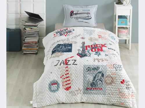 Детское покрывало на кровать стеганое FREEDOM Турция 13837 от Aran Сlasy в интернет-магазине PannaTeks