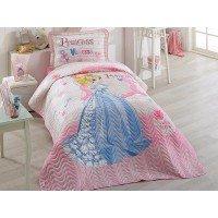 Покрывало детское на кровать стеганое с наволочкой VANESSA