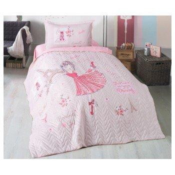 Детское покрывало на кровать стеганое с наволочкой ROMANTIC GIRL