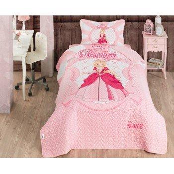 Детское покрывало на кровать стеганое PRINCESS Турция
