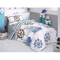 Детское покрывало на кровать стеганое MARINE Турция