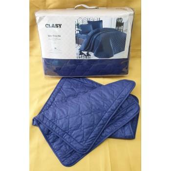 Стеганое покрывало на кровать синее RABEL V9 Турция фото 1
