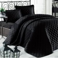 Черное покрывало на кровать RABEL V10 Турция