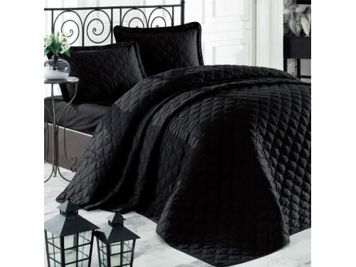 Черное покрывало на кровать RABEL V10 Турция 17535 от Aran Сlasy в интернет-магазине PannaTeks