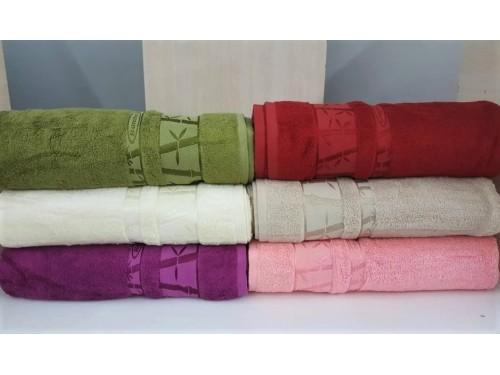 Полотенца бамбуковые (сауна) 100x150 (6 шт.) Турция 13095 13095 от Zeron в интернет-магазине PannaTeks