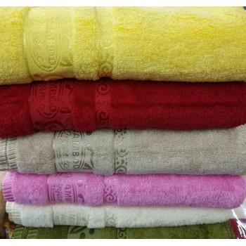 Полотенца бамбуковые (сауна) 100x150 (6 шт.) Турция 13115 фото 1