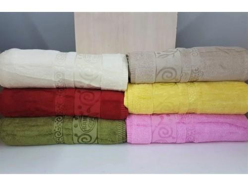 Полотенца бамбуковые (сауна) 100x150 (6 шт.) Турция 13115 13115 от Zeron в интернет-магазине PannaTeks