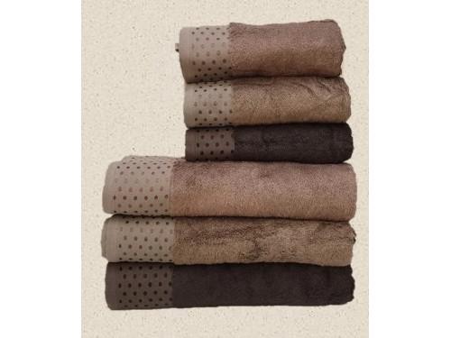 Полотенца бамбуковые 50x90 Brown (3 шт.) Турция 15765 от Zeron в интернет-магазине PannaTeks