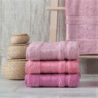 Полотенца бамбуковые 70x140 Pink (3 шт.) Турция
