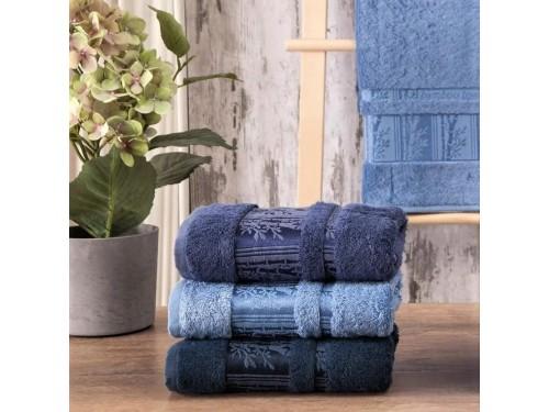 Полотенца бамбуковые 50x90 Blue (3 шт.) Турция 16107 от Zeron в интернет-магазине PannaTeks