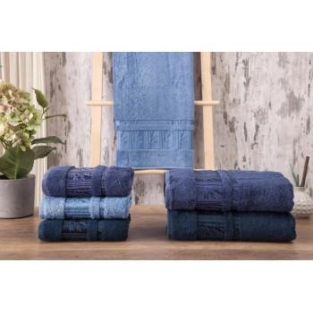 Полотенца бамбуковые 50x90 Blue (3 шт.) Турция фото 1