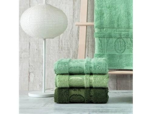 Полотенца бамбуковые 50x90 Green (3 шт.) Турция 16109 от Zeron в интернет-магазине PannaTeks