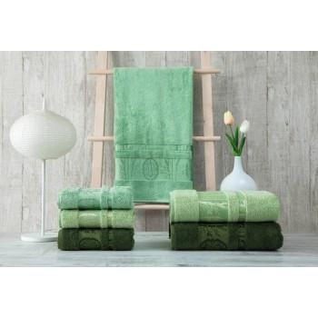 Полотенца бамбуковые 50x90 Green (3 шт.) Турция фото 2