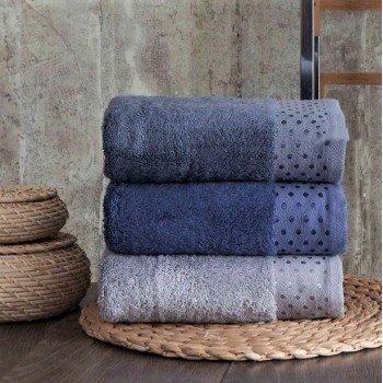 Полотенца бамбуковые 50x90 Blue (4 шт.) Турция