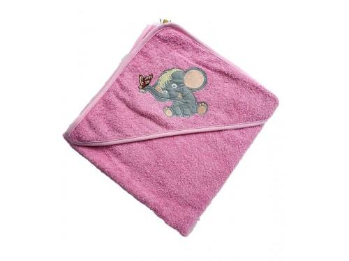 """Полотенце детское с капюшоном """"Слоник"""" 15688 от Zeron в интернет-магазине PannaTeks"""