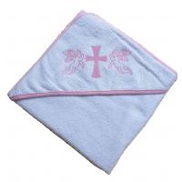 Крыжма для крещения с капюшоном 92x92, Турция 15692