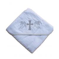 Крыжма для крещения с капюшоном 92x92, Турция 15693