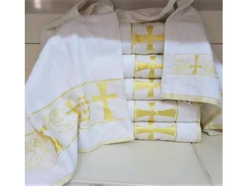 Крыжма для крещения махровая 90x150, Турция 16521 16521 от Zeron в интернет-магазине PannaTeks