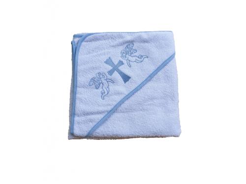 Крыжма для крещения с капюшоном и вышивкой 92x92, Турция, 15691 15691 от Zeron в интернет-магазине PannaTeks