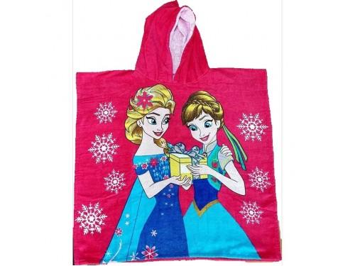 """Пляжное полотенце пончо 75x150 Турция """"Frozen"""" 16389 от Zeron в интернет-магазине PannaTeks"""