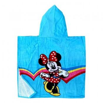 """Детское полотенце пончо 60x120 """"Микки Маус"""" фото 1"""