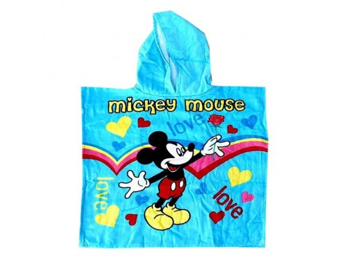 """Детское полотенце пончо 60x120 """"Микки Маус"""" 16446 от Zeron в интернет-магазине PannaTeks"""