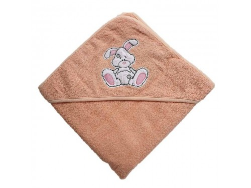Полотенце уголок для новорожденного Зайчик 15685 от Zeron в интернет-магазине PannaTeks