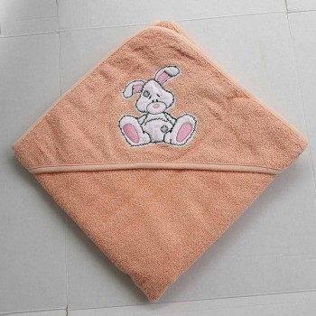 Полотенце уголок для новорожденного Зайчик фото 2