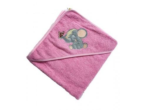 Полотенце уголок для новорожденного Слоник 15688 от Zeron в интернет-магазине PannaTeks