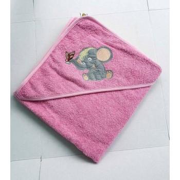 Полотенце уголок для новорожденного Слоник фото 1