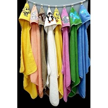 Полотенце для новорожденного с капюшоном Белочка фото 2