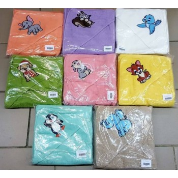 Полотенце для новорожденного с капюшоном Белочка фото 4