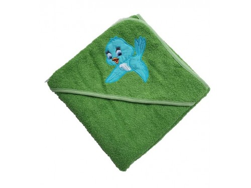 Детское полотенце с уголком Птичка 15689 от Zeron в интернет-магазине PannaTeks