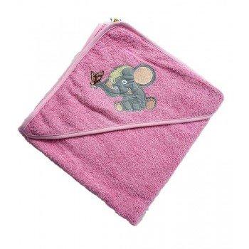 Полотенце уголок для новорожденного Слоник